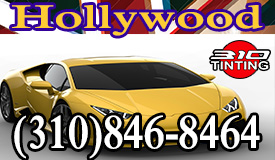 Hollywood Car window tinting in working hard to deliver heat reduction on your glass window tinting