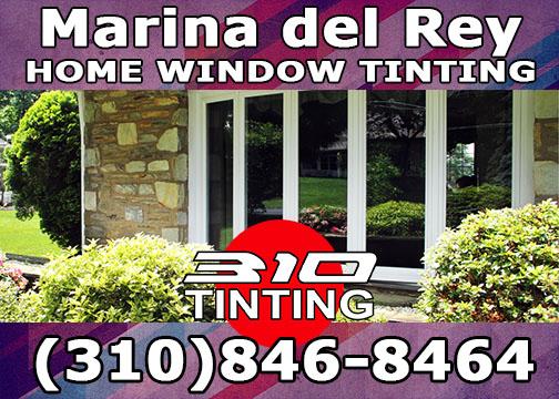 window tinting Marina Del Rey