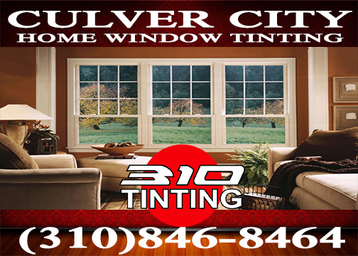 window tinting in Culver City