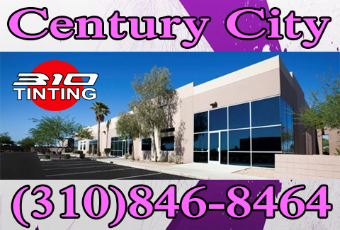 window tinting in Century City