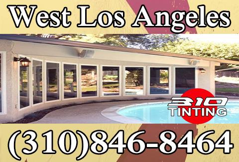 window tinting in West Los Angeles