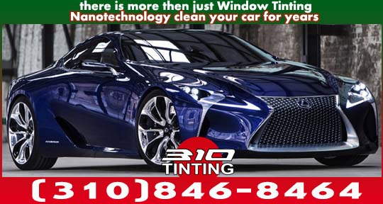 car nano self cleanning ceramic window tinting