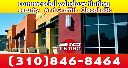 commercial tinting security anti graffiti oleophobic