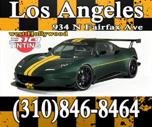 Los Angeles 310 window tinting x037