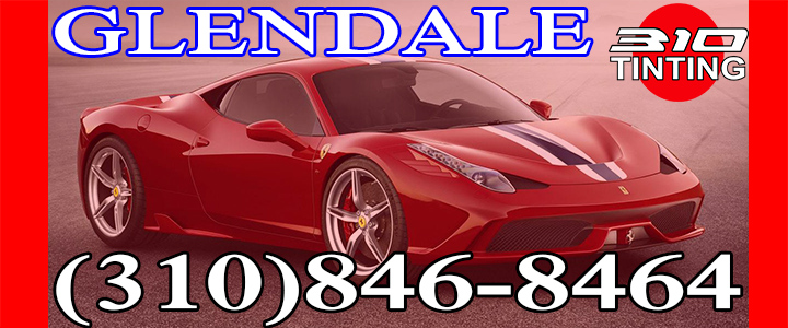window tinting Glendale