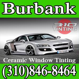 window tinting in Burbank