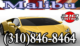Malibu window tinting