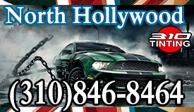 window tinting in North Hollywood
