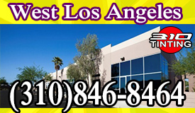 commercial window tinting in Los Angeles