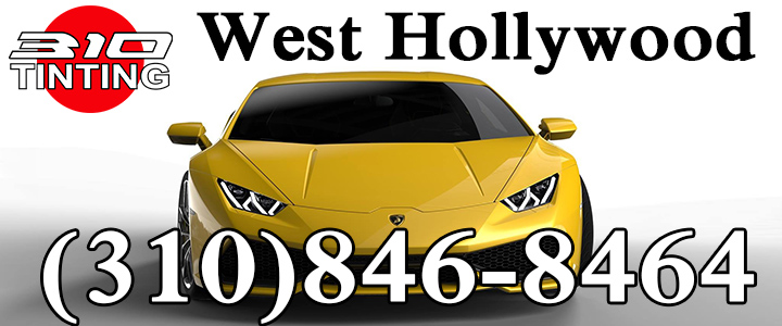 west Hollywood window tinting