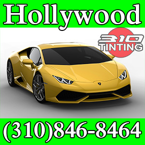 window tinting in Hollywood