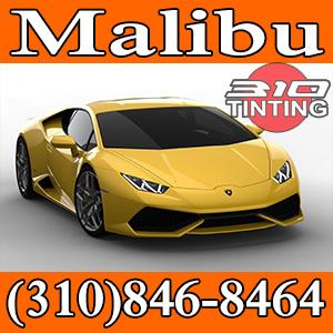 Car window tinting in Malibu