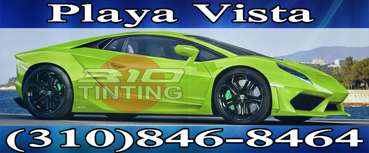 Playa Vista Car window tinting