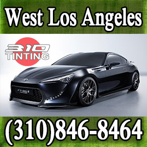 window tinting in west LA
