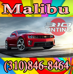 Malibu Car window tinting