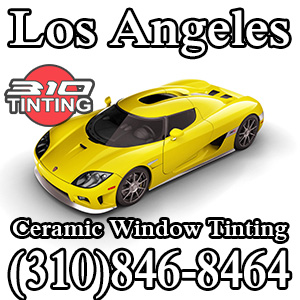 Car Window Tinting in Los Angeles