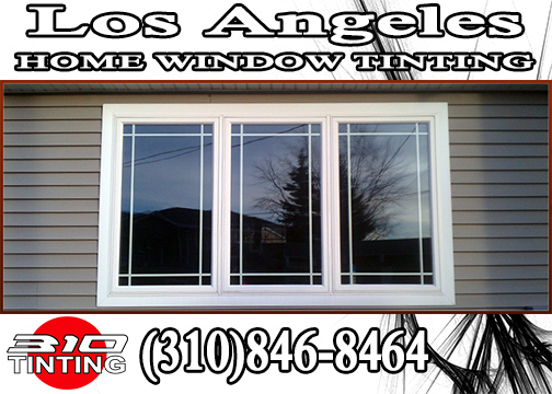 Residential Window Tinting Los Angeles