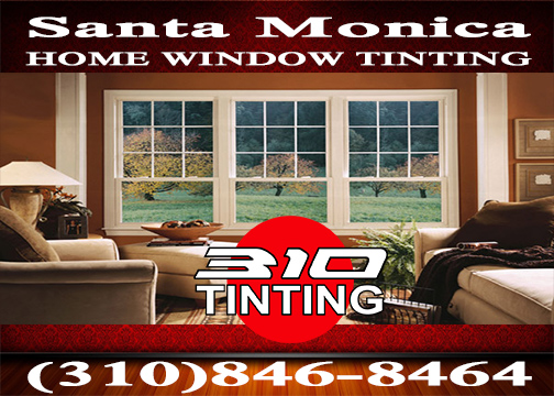 residential window tinting in Santa Monica