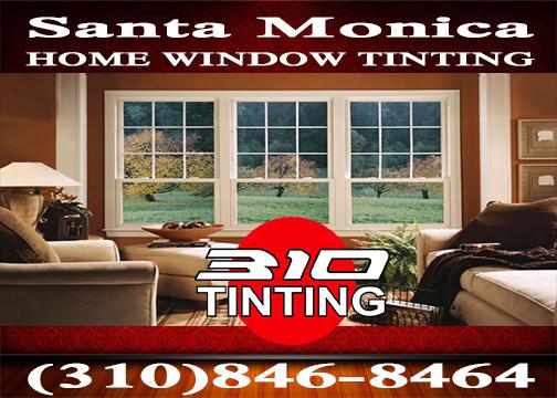 residential window tinting in Santa Monica