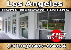 Residential window tinting in Los Angeles
