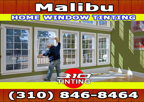 Home window tinting in Malibu