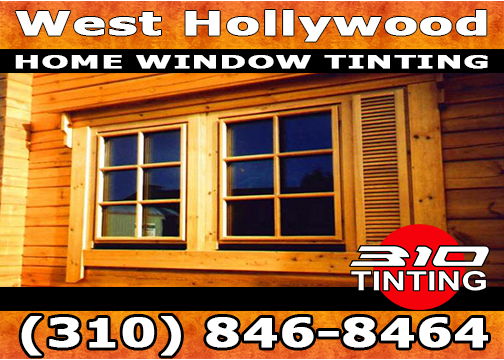 Residential and Commercial window tinting in West Hollywood