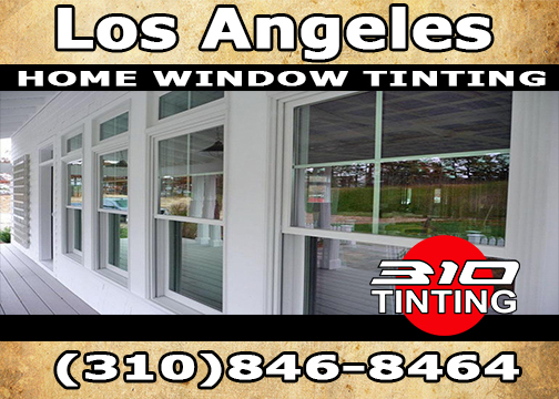 Home window tinting Los Angeles