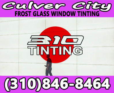 frost glass window tinting culver city