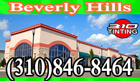 commercial Window Tinting Beverly Hills
