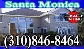 window tinting Santa Monica