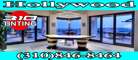 Residential and commercial window tinting in Hollywood