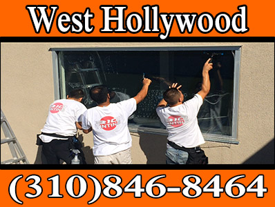 commercial window tinting in west Hollywood